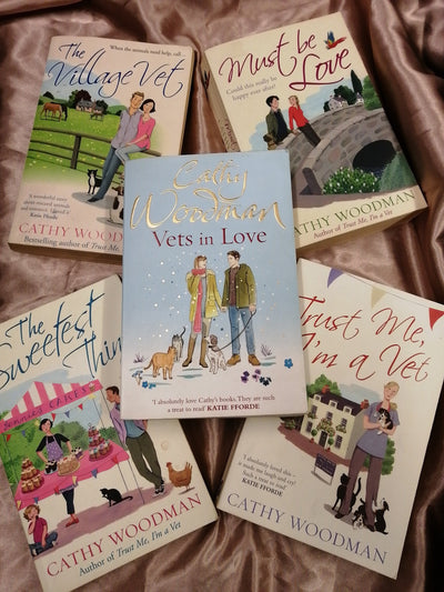 Vets and Animals Chicklit Book Pack - Old Curiosity Bookshop