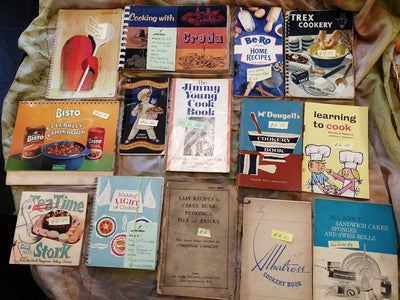 Vintage Cookery Books Old Curiosity Bookshop
