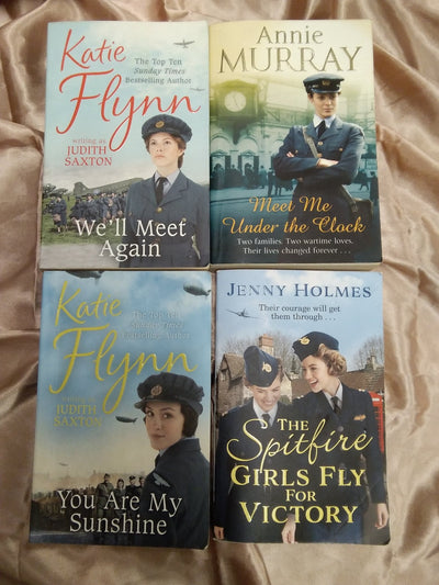Women RAF Wartime Book Pack covers