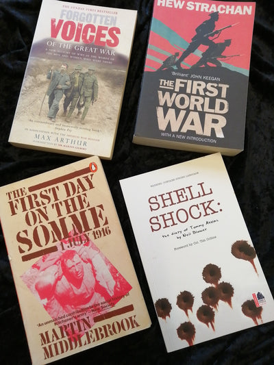 World War One History Book Pack - Old Curiosity Bookshop