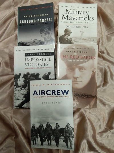 Military History Book Pack - Old Curiosity Bookshop