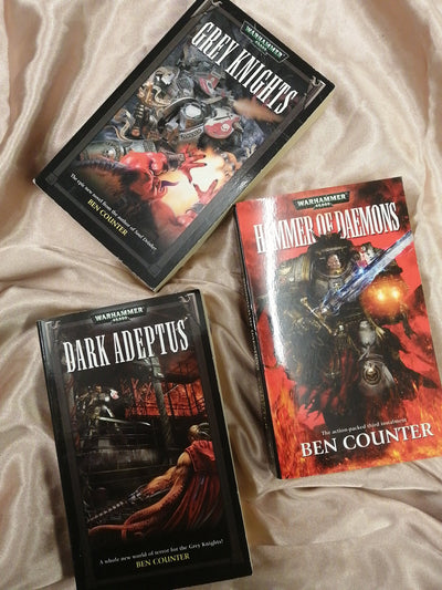 YA Warhammer Grey Knights Book Pack - Old Curiosity Bookshop