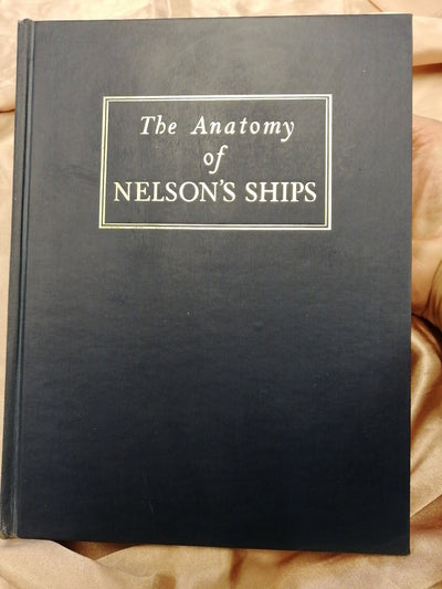 Anatomy Of Nelsons Ships Old Curiosity Bookshop