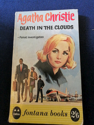 Death In The Clouds by Agatha Christie - Old Curiosity Bookshop