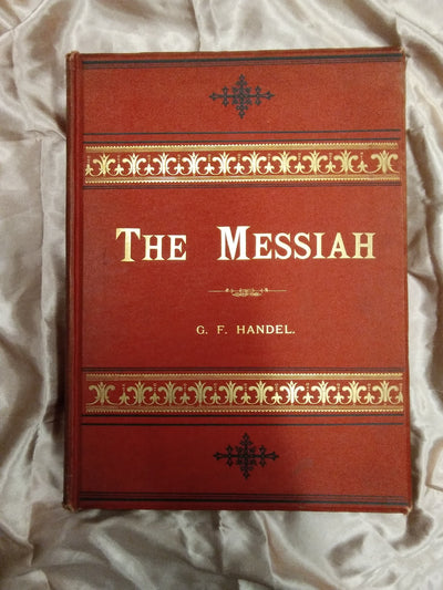 Handels Messiah Antique Music Score - Old Curiosity Bookshop