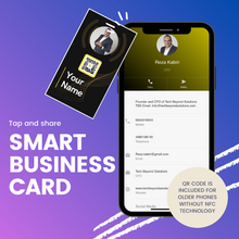 Load image into Gallery viewer, TBS Smart Business Card