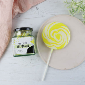 Pina Colada Alcoholic Sweets And Lollipop Gift Set
