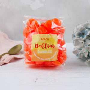 Boozy Peach Bellini Sweets