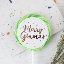 Load image into Gallery viewer, Merry Ginmas Giant Lollipop