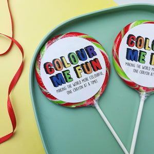 *SPECIAL OFFER* Giant Personalised Lollipops