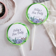 Load image into Gallery viewer, Succulent Hen Party Giant Lollipops