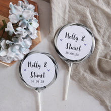 Load image into Gallery viewer, Traditional Wedding Favour Alcoholic Giant Lollipops