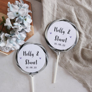Traditional Wedding Favour Alcoholic Giant Lollipops