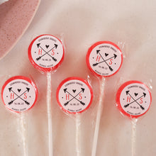 Load image into Gallery viewer, Initials Wedding Favour Lollipops