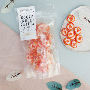 Boozy Mango Daiquiri Rock Sweets
