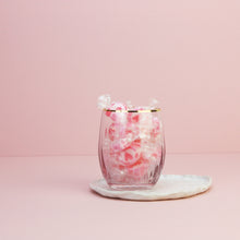 Load image into Gallery viewer, Boozy Raspberry Gin Rock Sweets