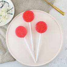 Load image into Gallery viewer, Alcoholic Raspberry Mojito Lollipops