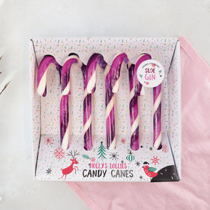 Sloe Gin Candy Canes