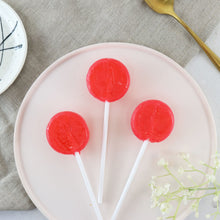 Load image into Gallery viewer, Alcoholic Strawberry Daiquiri Lollipops