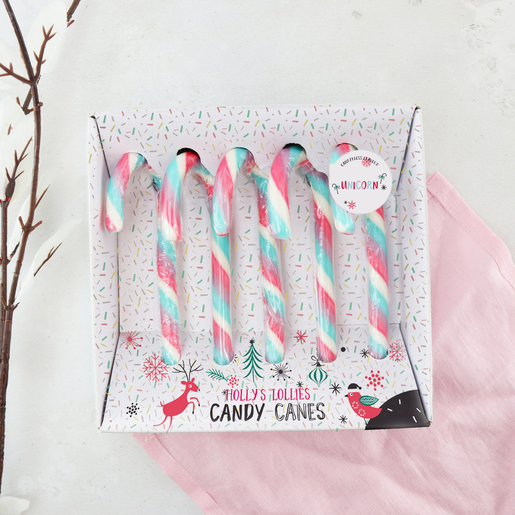 Unicorn Candy Canes