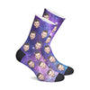 Custom Galaxy Socks