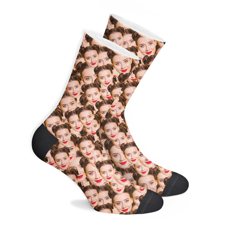 Custom Multi-Face Socks