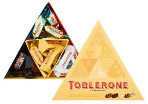 Toblerone Chocolate Assortment Gift Box, 200g
