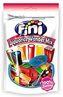 Fini Liquorice Wonder Mix 180g