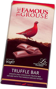 The Famous Grouse - Whisky Truffle Bar Milk Chocolate 90g