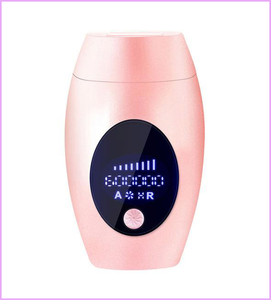 IPL Laser Hair Removal Handset Gloss Pink 500000 Flashes ⚡
