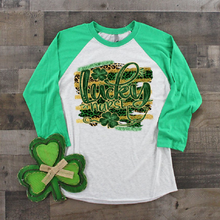 Load image into Gallery viewer, ST PATRICK'S DAY -LUCKY NURSE  - Full Color Transfer -  PRE-SALE - SHIPS IN 7-10 BUSINESS DAYS - PACK OF 10