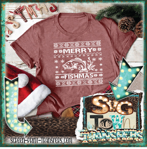 MERRY FISHMAS - PRESALE - IN STOCK - READY TO SHIP - SHIPS NEXT DAY