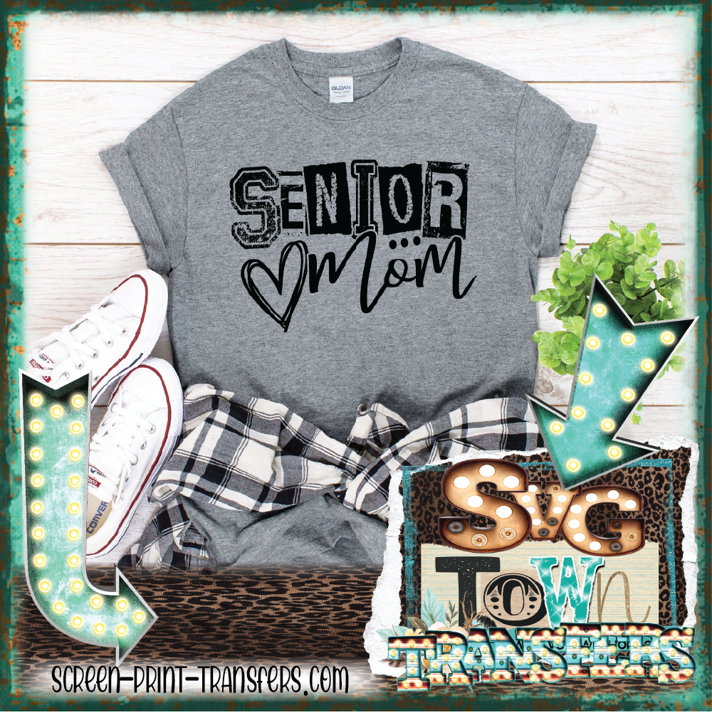SENIOR MOM - One Color  - READY TO SHIP - IN STOCK - SHIPS NEXT DAY