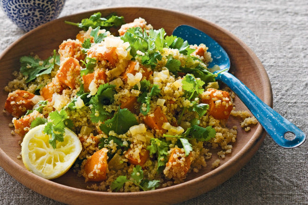 Quinoa with Roasted Pumpkin