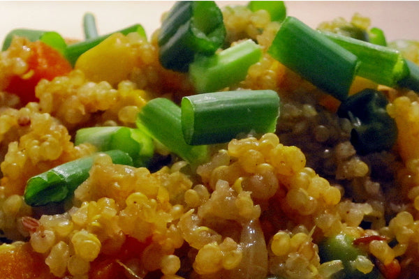 Quinoa Salad with Mixed Vegetables