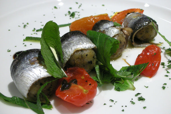 Sardine with Green Vegetables