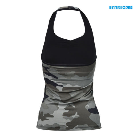 BETTER BODIES HALTERNECK TANK TOP