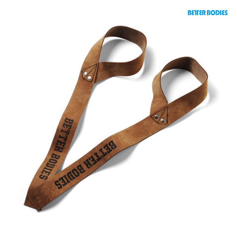 BETTER BODIES 1.5 in Leather Strap