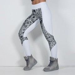 LABELLAMAFIA WHITE TECHNOLOGY LEGGING