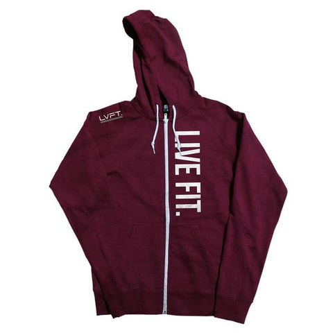 LIVE FIT WOMEN'S ZIP UP HOODIE