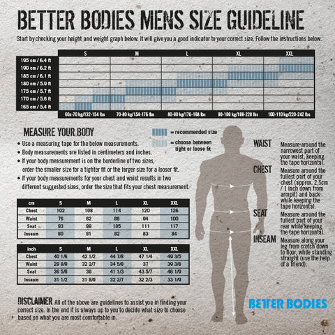 BETTER BODIES BB BOARD SHORTS
