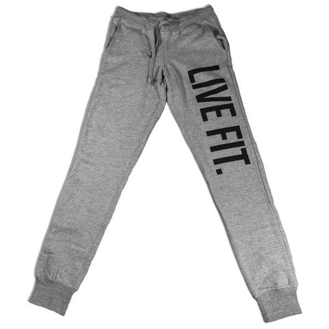 LIVE FIT WOMEN'S ORIGINAL JOGGERS - HEATHER GREY