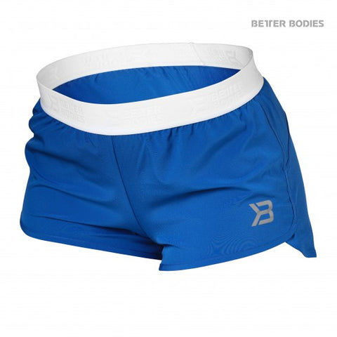 BETTER BODIES WOMEN'S MADISON SHORTS - STRONG BLUE