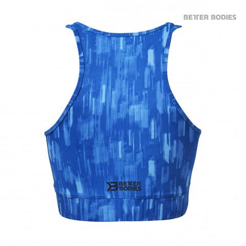BETTER BODIES MANHATTAN HALTER TOP - BRIGHT BLUE