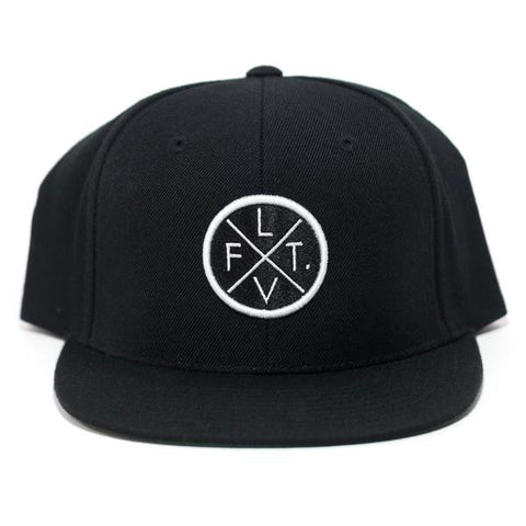 LIVE FIT PRESTIGE WORLDWIDE SNAPBACK - BLACK