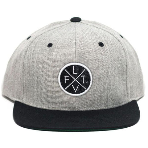 LIVE FIT PRESTIGE WORLDWIDE SNAPBACK - HEATHER GREY