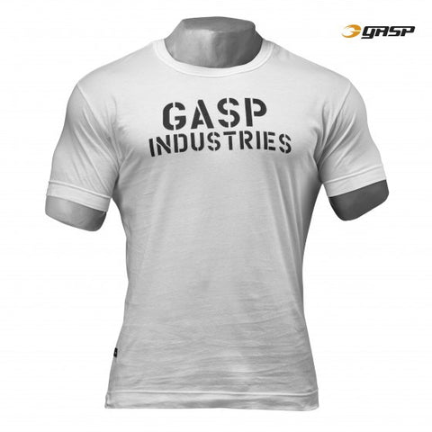 GASP STANDARD ISSUE TEE - OFF WHITE