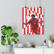 Iconic Christine Sinclair Poster - Football Iconz