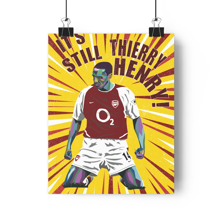 Iconic Thierry Henry Poster