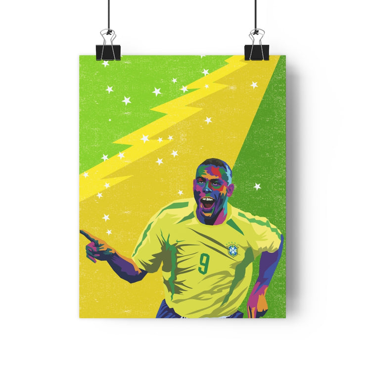 Iconic Ronaldo Poster - Football Iconz